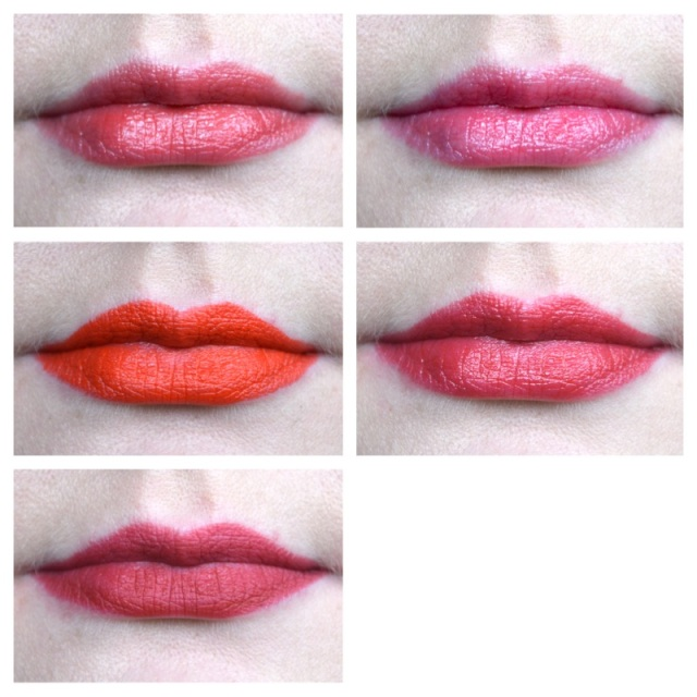 Top 5 red lipsticks