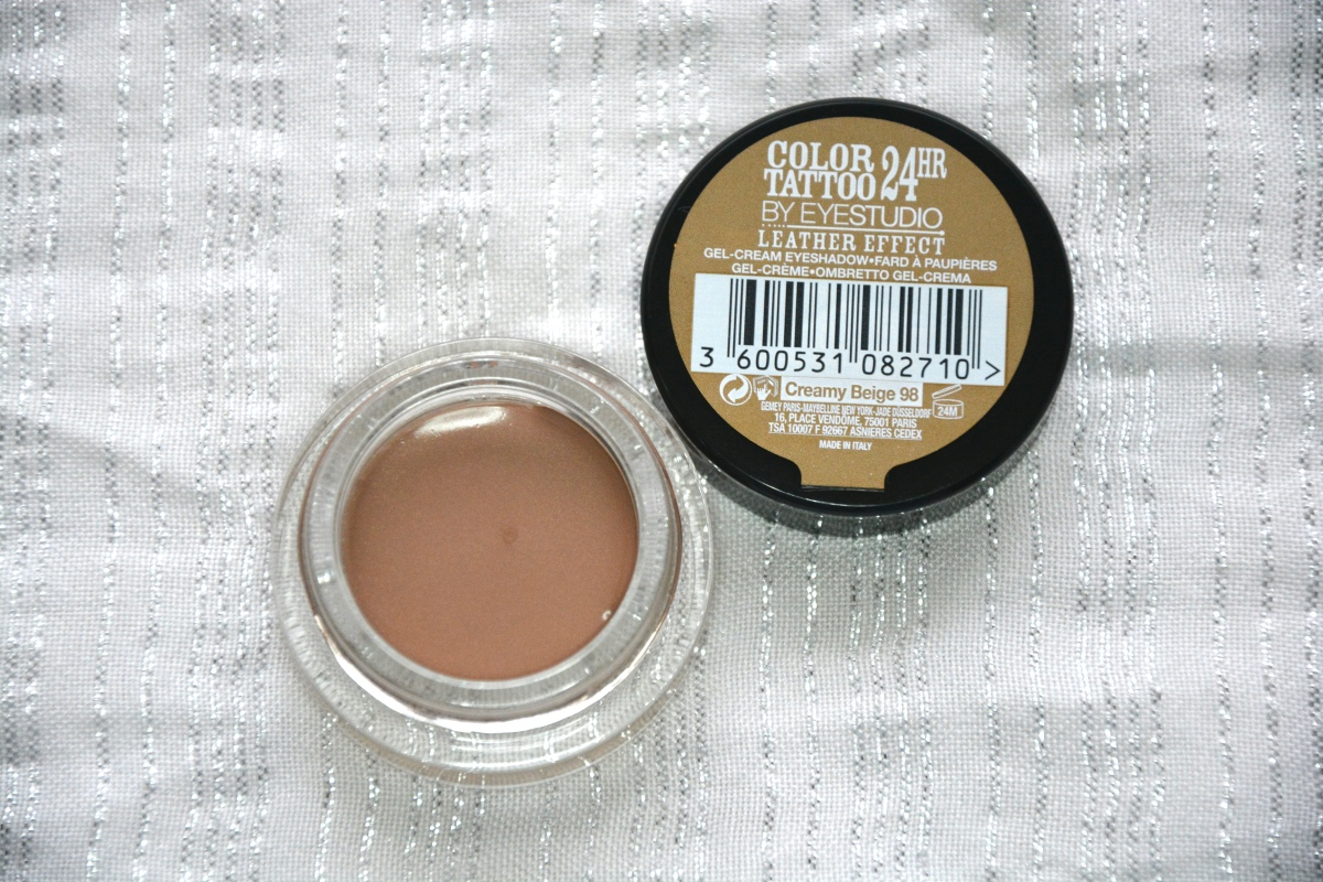 Review | Maybelline Color Tattoo - Creamy Beige