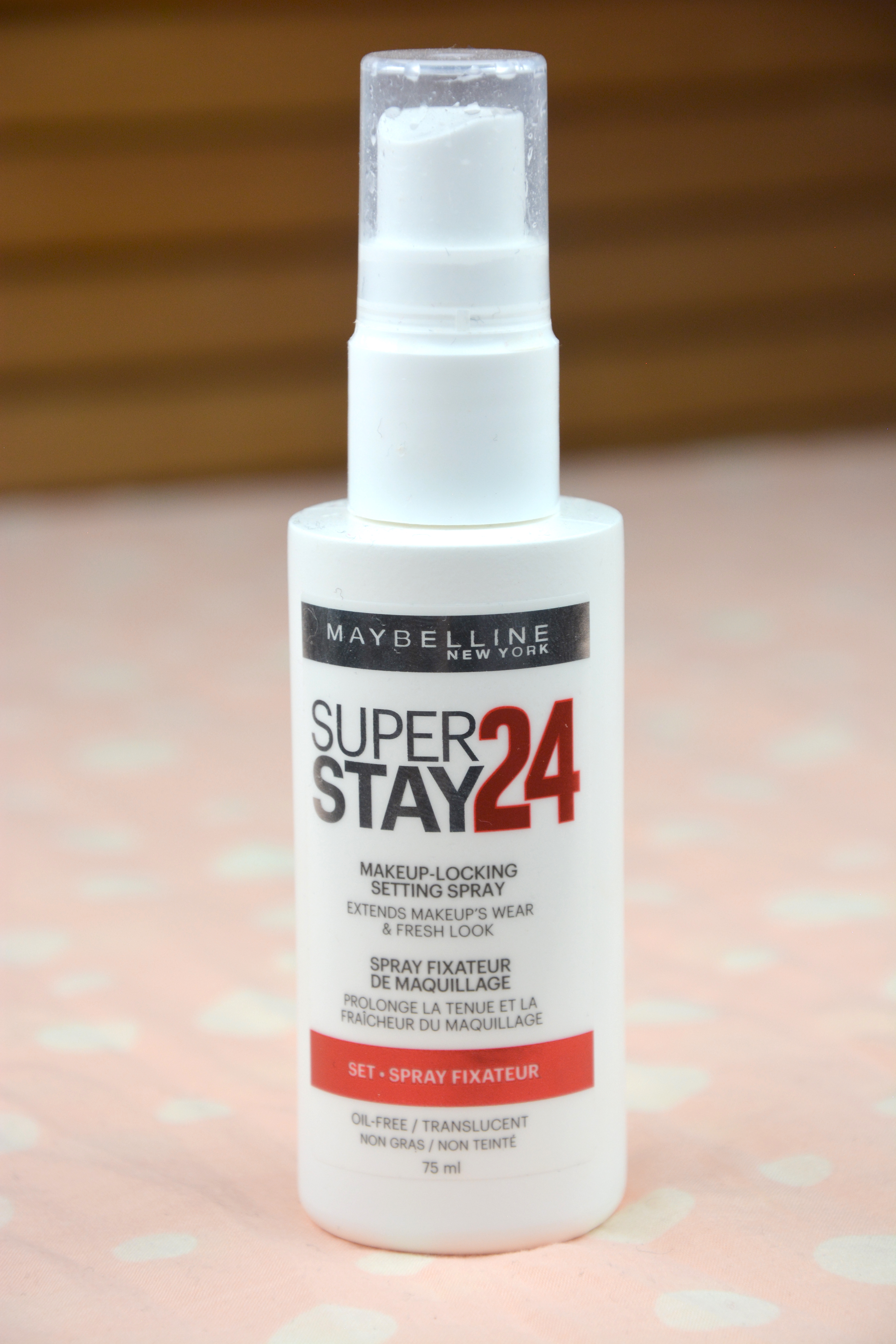 Review | Maybelline Super Stay 24h Makeup-Locking Setting Spray ...