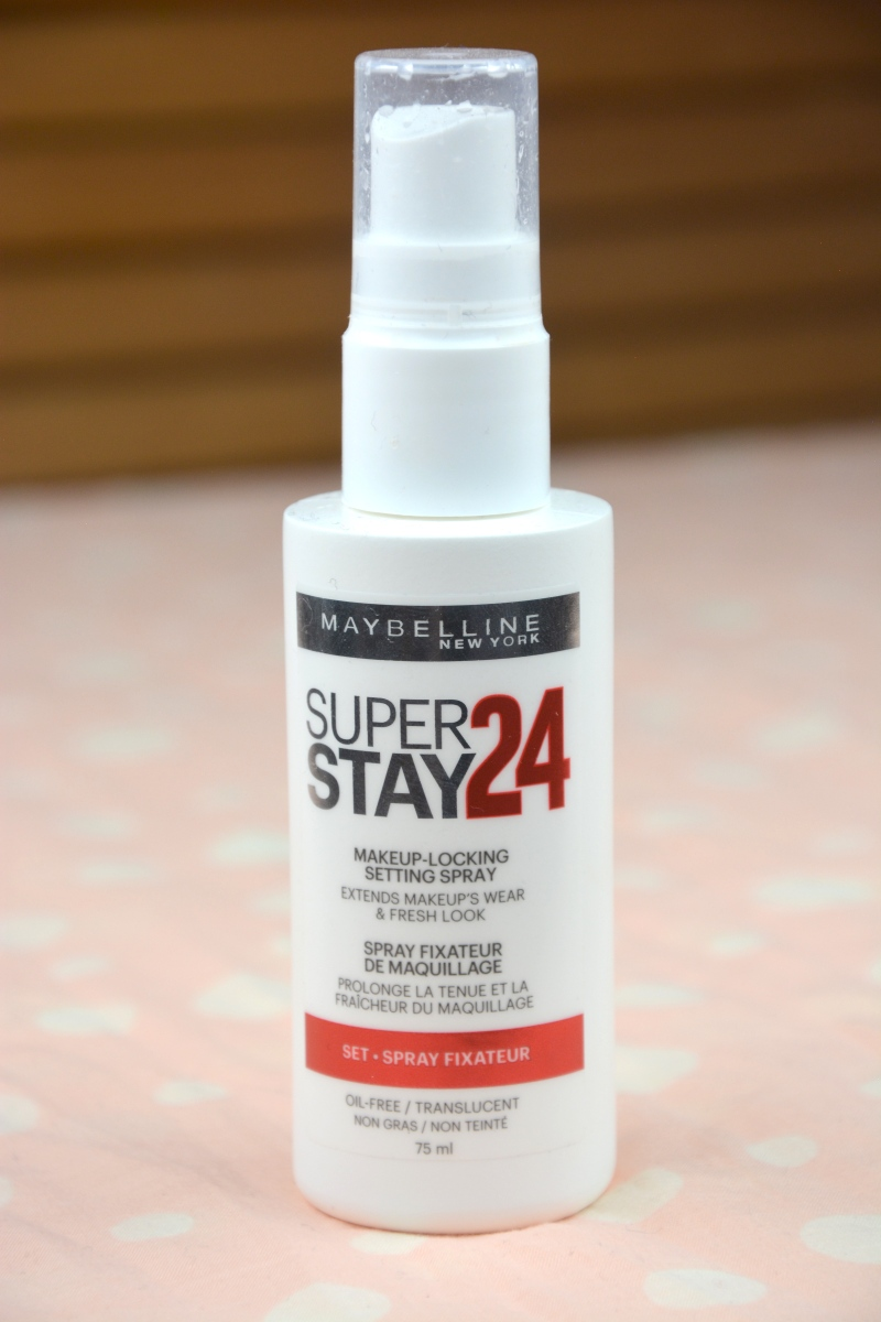 Review | Maybelline Super Stay 24h Makeup-Locking Setting Spray
