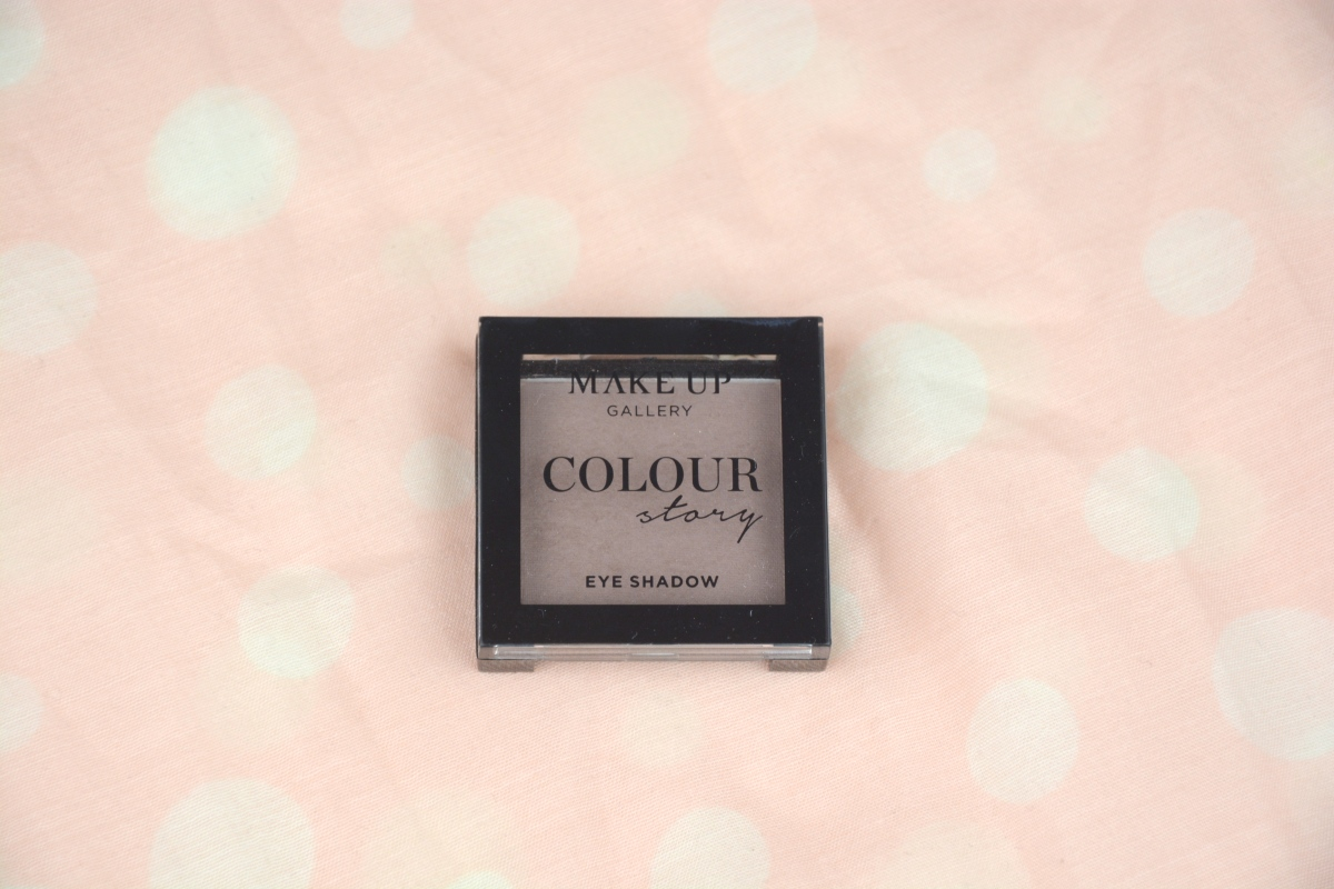 Review | Make Up Gallery Colour Story Eyeshadow in Cappuccino